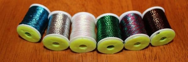 Fly Tying Braided lurex 8 colours Get all 8 for the price of 5
